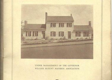 Original 1920s guide book